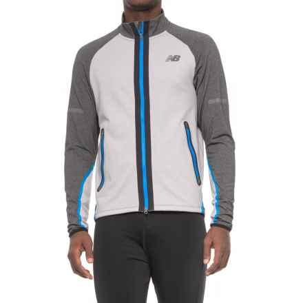New Balance Trinamic Jacket (For Men) in Grey - Closeouts