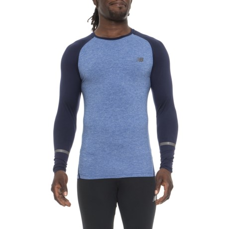 New Balance Trinamic Shirt - Long Sleeve (For Men) in Pigment