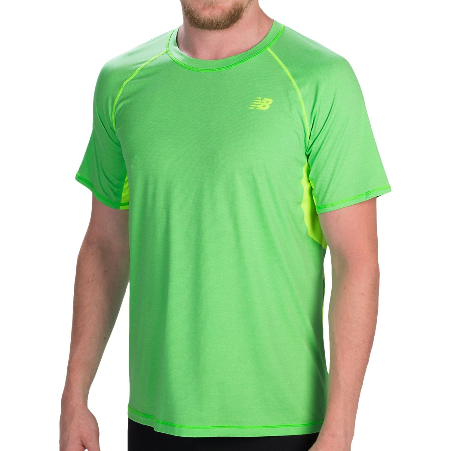 green new balance t shirt