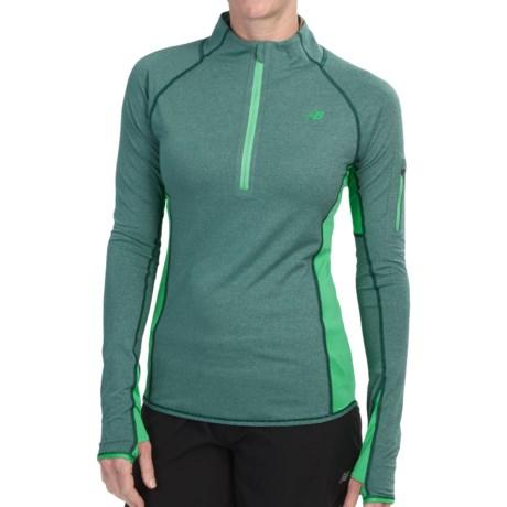 New Balance Ultra Shirt Zip Neck (For Women)
