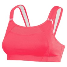 New Balance Unshockingly Shocking Sports Bra (For Women) in Watermelon - Closeouts
