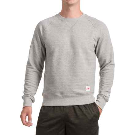 New Balance USA Terry-Knit Sweatshirt (For Men) in Grey - Closeouts