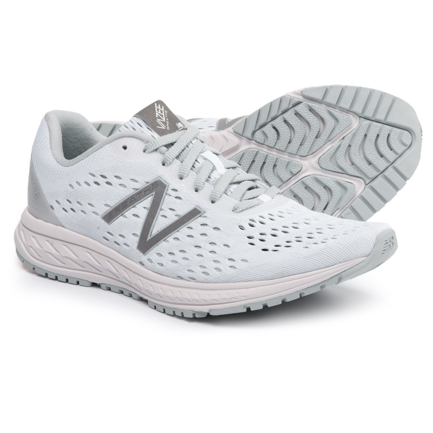new balance women white