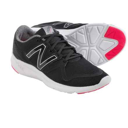 New Balance Vazee Coast Running Shoes (For Women) in Black/Pink - Closeouts