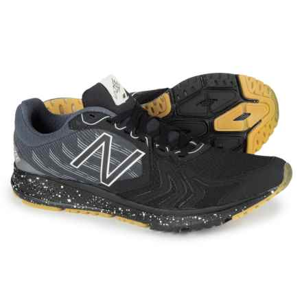New Balance Vazee Pace 2 Running Shoes - Glow in the Dark (For Men) in Black/Silver - Closeouts