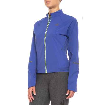 New Balance Vented Precision Jacket (For Women) in Blue - Closeouts