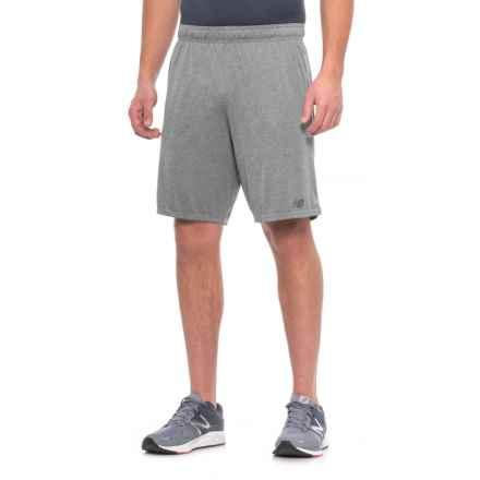 New Balance Versa Knit Athletic Shorts (For Men) in Ag Athletic Grey - Closeouts