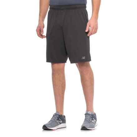 New Balance Versa Knit Athletic Shorts (For Men) in Black - Closeouts