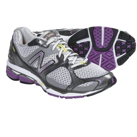 New Balance W1080v2 Running Shoes (For Women) in Dewberry