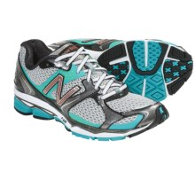 New Balance W1080v2 Running Shoes (For Women) in Silver/Teal - Closeouts