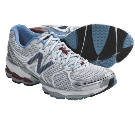 New Balance W1260 Running Shoes (For Women) in White/Blue/Red