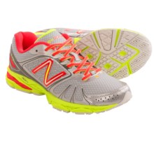 New Balance W770V4 Running Shoes (For Women) in Silver/Neon Green/Pink Glo - Closeouts