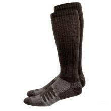 New Balance Wellness Walker Compression Socks - 2-Pack, Over the Calf (For Women) in Brown - Closeouts