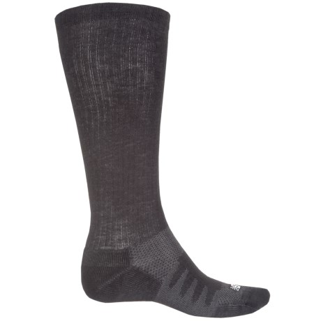 New Balance Wellness Walker Compression Socks - Over the Calf (For Women) in Black