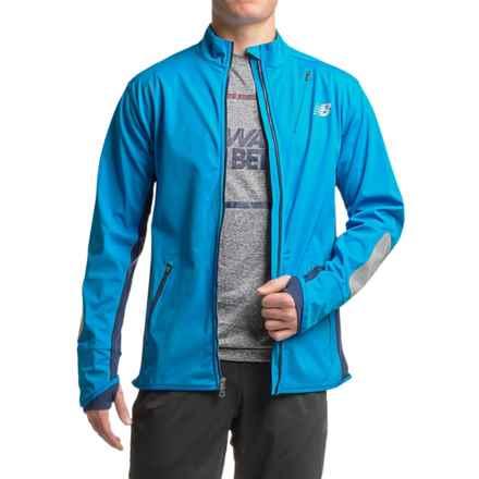 New Balance Windblocker Jacket (For Men) in Barracuda/Galaxy - Closeouts