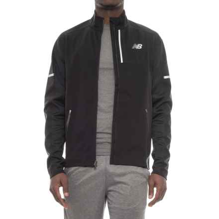 New Balance Windblocker Jacket (For Men) in Black - Closeouts