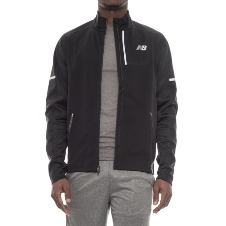 New Balance Windblocker Jacket (For Men) in Black