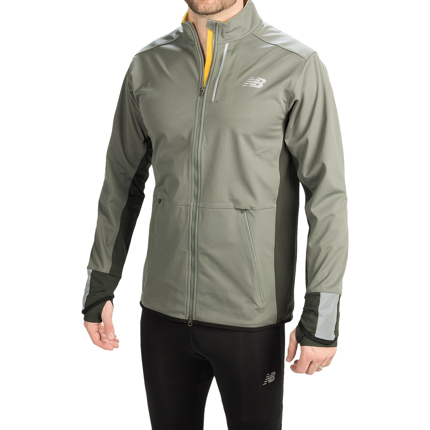 New Balance Windcheater Mens Green