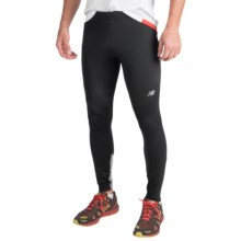 New Balance Windblocker Tights (For Men) in Black - Closeouts