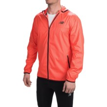 New Balance Windcheater Jacket (For Men) in Flame - Closeouts