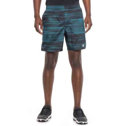 "New Balance Woven Running Shorts - Built-in Briefs, 7"" (For Men) in Animal - Closeouts"