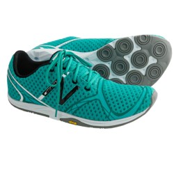 New Balance WR00 Minimus Running Shoes (For Women) in Teal/Black/White