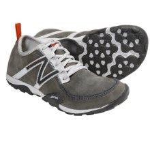 New Balance WT10 Leather Minimus Trail Shoes - Minimalist (For Women) in Grey - Closeouts