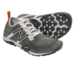 New Balance WT10 Leather Minimus Trail Shoes - Minimalist (For Women) in Grey