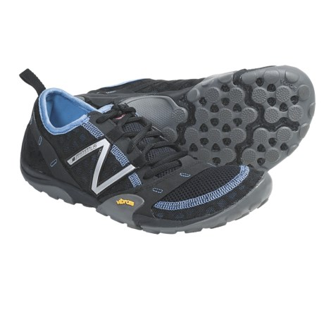 New Balance WT10 Minimus Trail Running Shoes (For Women) in Black/Blue