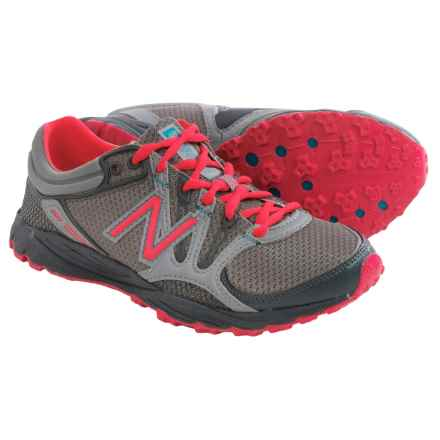New Balance WT101 Trail Running Shoes (For Women) in Grey/Cherry - Closeouts