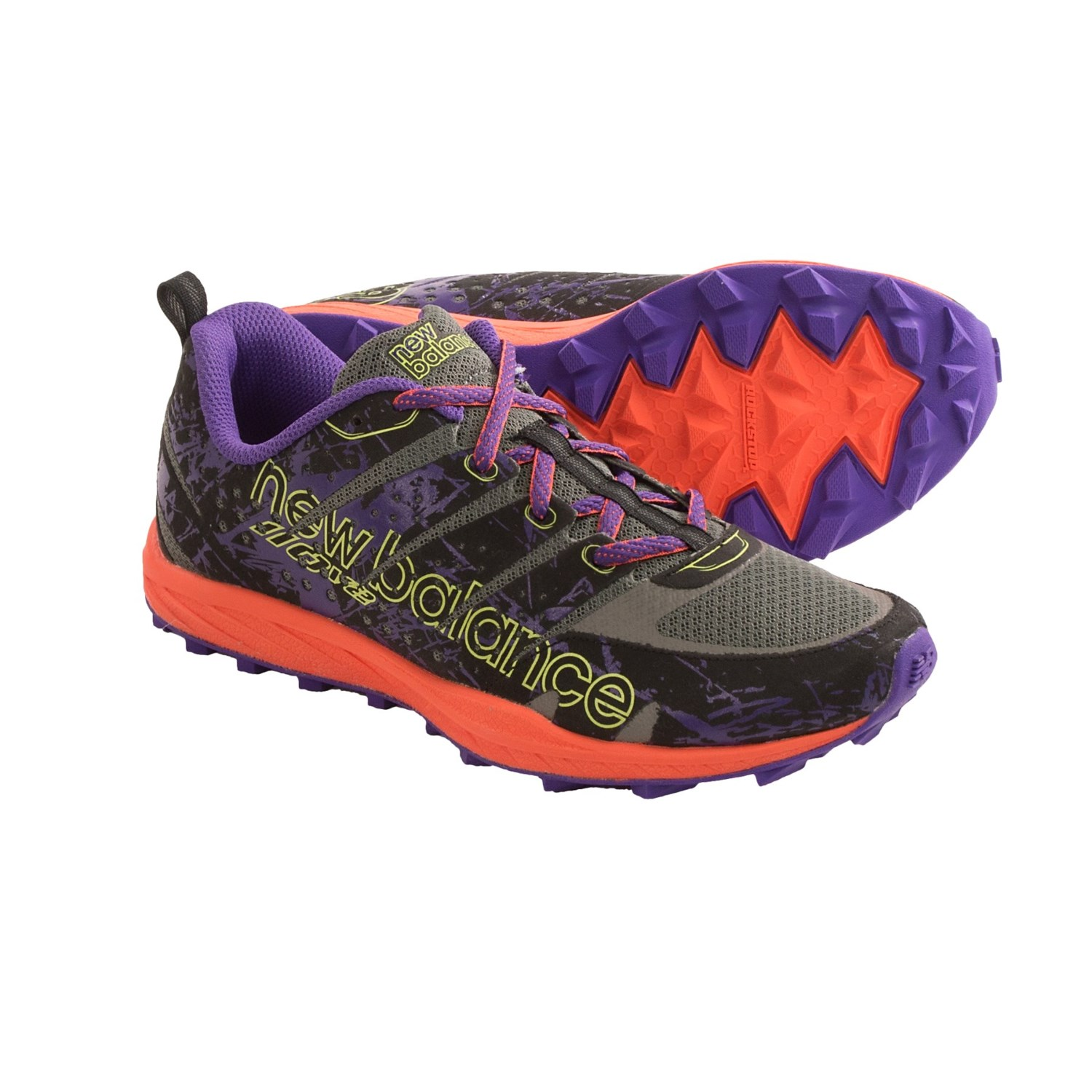 New Balance WT110 Trail Running Shoes (For Women) in Gray/Purple