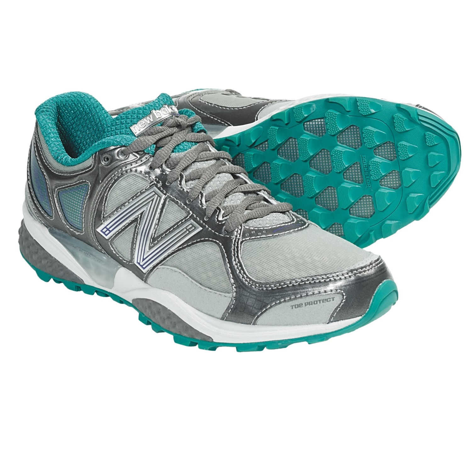 New Balance WT1110 Trail Running Shoes (For Women) in Deep Peacock