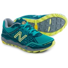 New Balance WT1210V2 Trail Running Shoes (For Women) in Teal/Grey - Closeouts