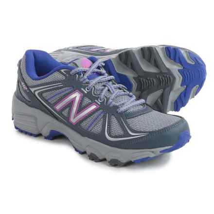 New Balance WT412V2 Trail Running Shoes (For Women) in Grey - Closeouts