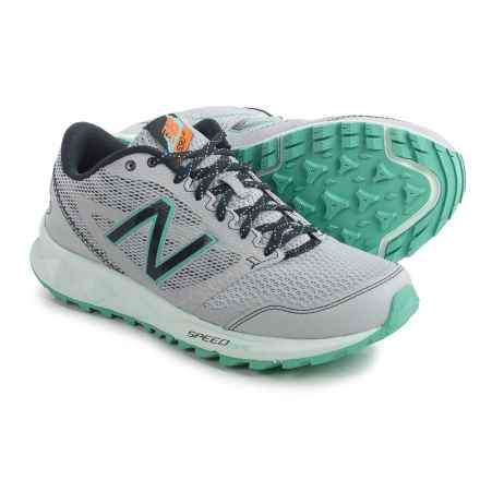 New Balance WT590v2 Trail Running Shoes (For Women) in Grey/Navy - Closeouts