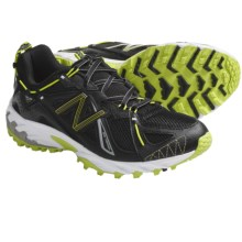 New Balance WT610 Trail Running Shoes (For Women) in Black/Green - Closeouts