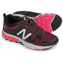 New Balance WT610v5 Trail Running Shoes (For Women) in Black W/Pink Zing - Closeouts