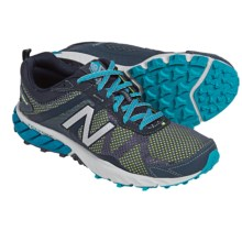 New Balance WT610v5 Trail Running Shoes (For Women) in Thunder W/Sea Glass - Closeouts