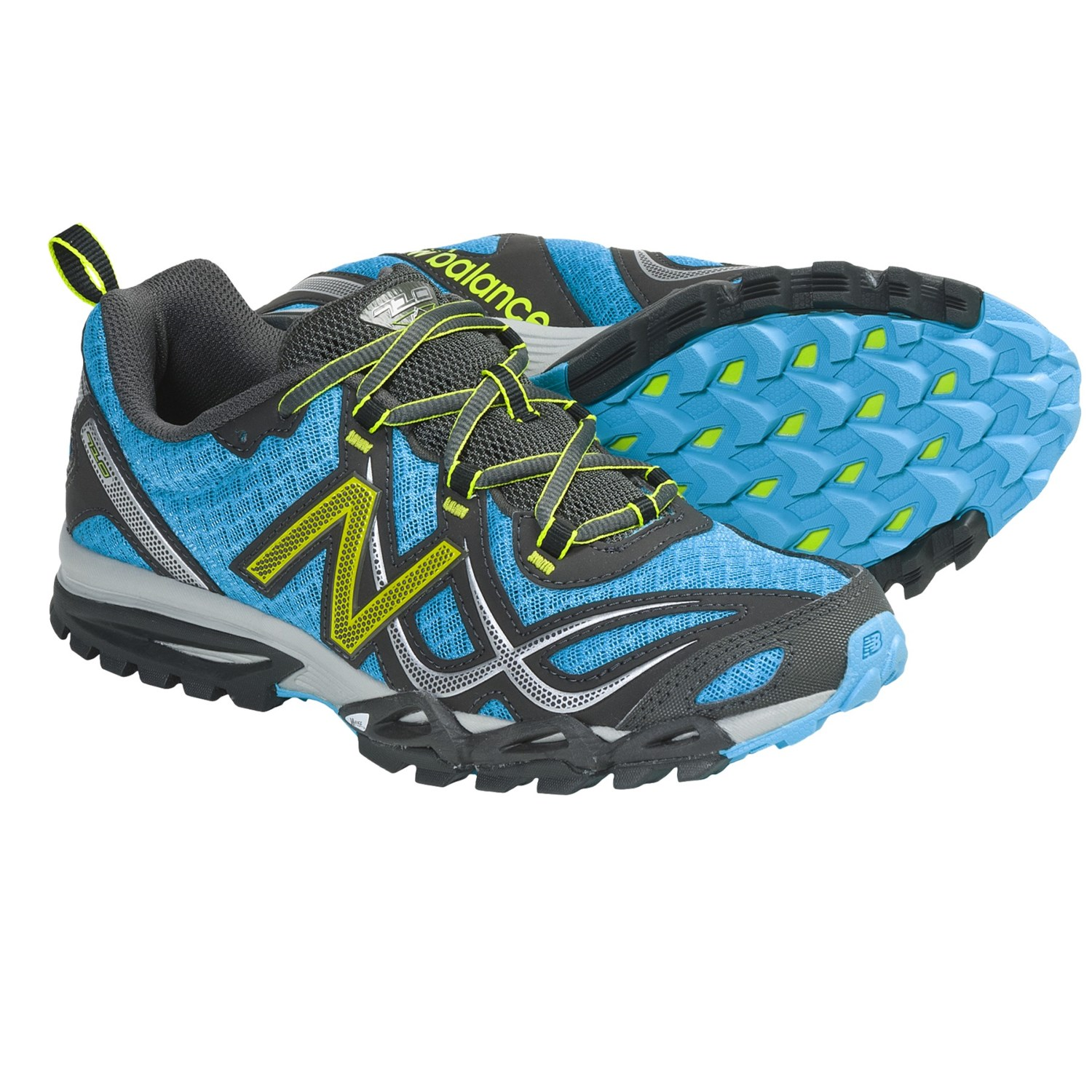 New Balance WT710GG Trail Running Shoes (For Women) in Teal/Black