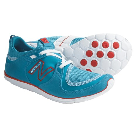 New Balance WW10 Minimus Shoes (For Women) in Blue/Red