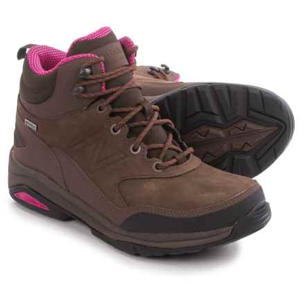 New Balance WW1400 Hiking Boots - Waterproof, Nubuck (For Women) in Brown - Closeouts