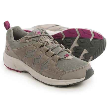 New Balance WW799 Hiking Shoes (For Women) in Grey/Voltage Violet - Closeouts
