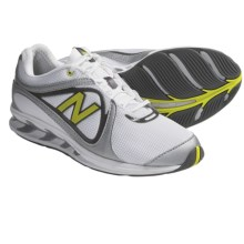 New Balance WW855 Walking Shoes (For Women) in White/Silver/Lime Green - Closeouts
