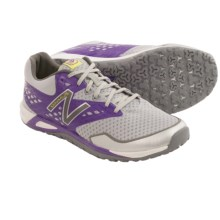 New Balance WX00 Minimus Cross-Training Shoes - Minimalist (For Women) in Grey/Purple - Closeouts