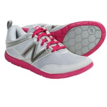 New Balance WX20 Minimus Shoes - Minimalist (For Women) in Silver/Pink - Closeouts
