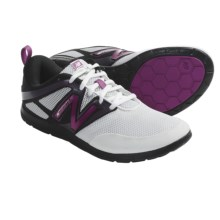 New Balance WX20 Minimus Shoes - Minimalist (For Women) in White - Closeouts