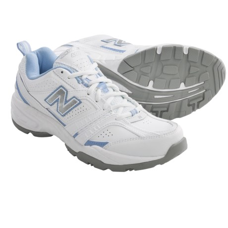 New Balance WX409 Cross Training Shoes (For Women) in White/Lilac
