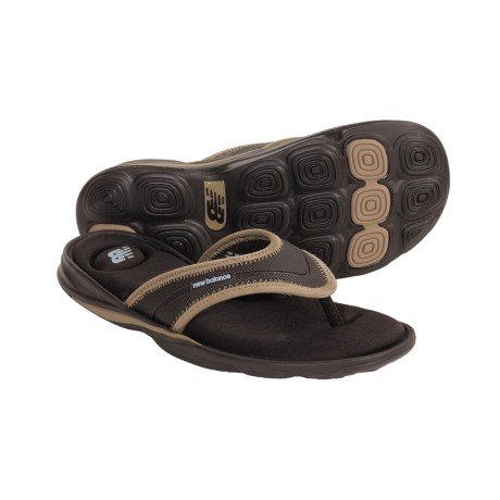New Balance Zen Sandals - Flip-Flops (For Women) in Brown