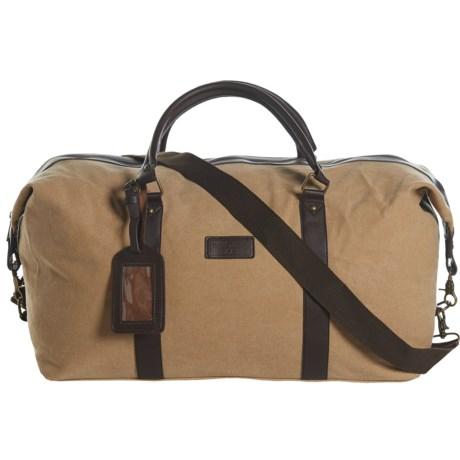 New Culture USA Canvas Duffel Bag in Tan