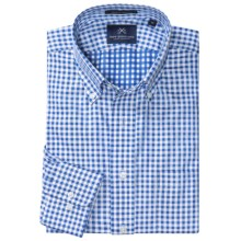 New England Shirt Company Borelli Check Shirt - Long Sleeve (For Men) in Blue - Closeouts